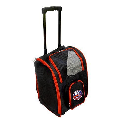 Mojo New York Islanders Wheeled Pet Carrier