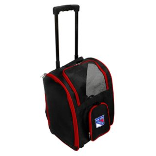 Mojo New York Rangers Wheeled Pet Carrier