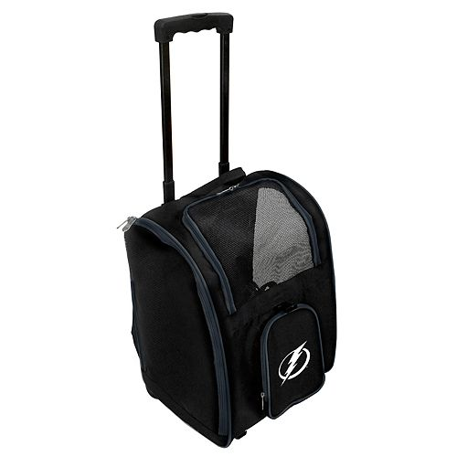 Mojo Tampa Bay Lightning Wheeled Pet Carrier