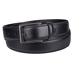 Men's Croft & Barrow® Embossed-Edge Belt