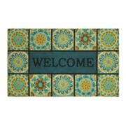 Mohawk Home® ''Welcome'' Tile Rubber Doormat - 18'' x 30''