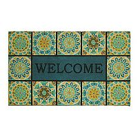 Mohawk Home® ''Welcome'' Tile Rubber Doormat - 18'' x 30''
