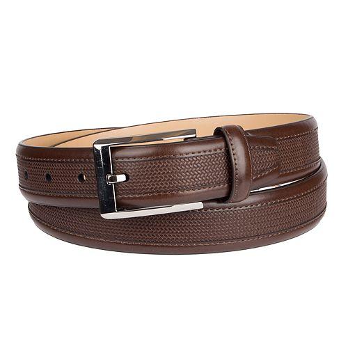 Men's Croft & Barrow® Weave Pattern Belt