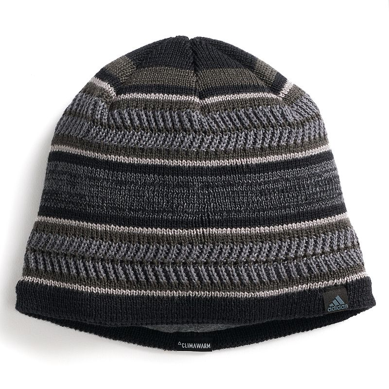 Men's Adidas Optimal Beanie, Black Optimize you sense of style with this men's Adidas beanie. Climawarm fabric traps in heat to keep you warm Fully lined FIT & Sizing One size fits most Fabric & Care Acrylic, polyester, spandex Hand wash Imported Size: Onesize. Color: Black. Gender: Male. Age Group: Adult.
