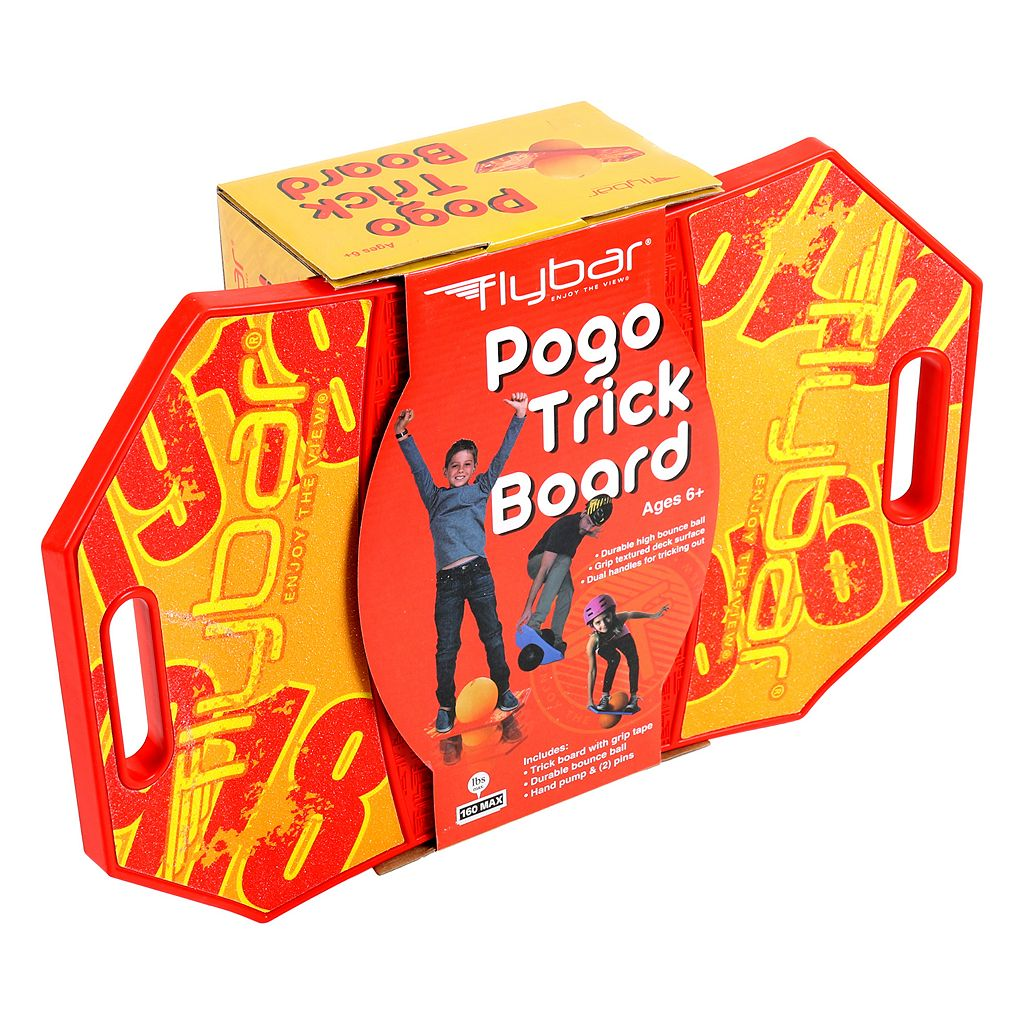 Flybar Red Pogo Trick Board