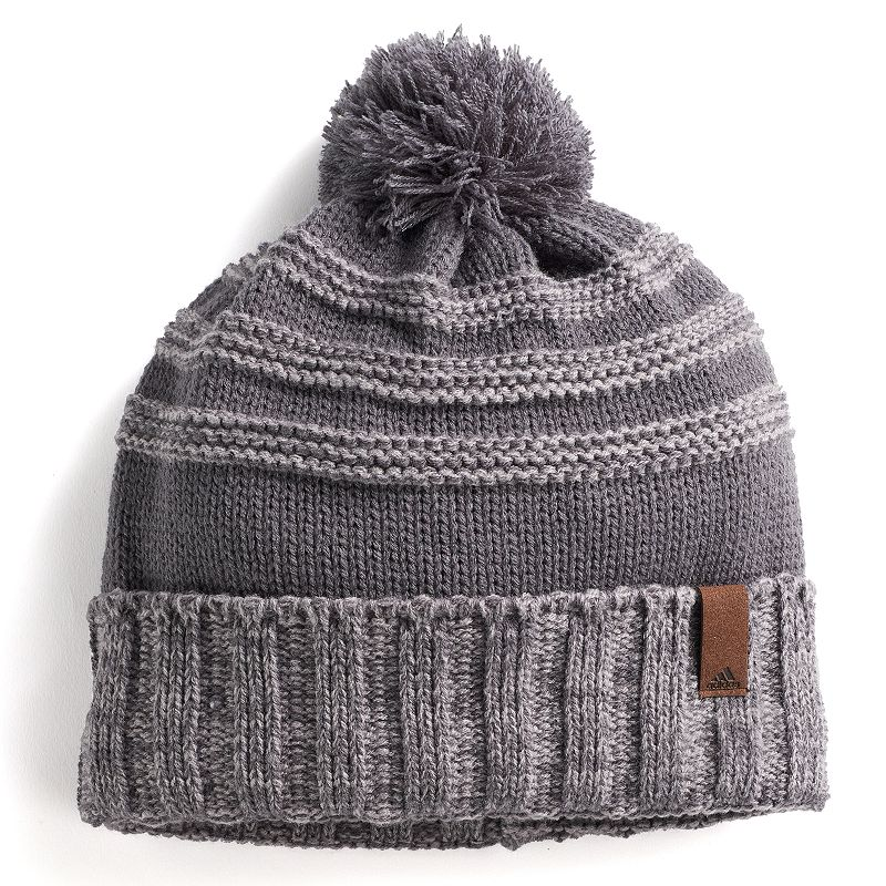 Men's Adidas Recon Beanie, Grey When the temperature drops, stay warm in style with this men's Adidas beanie. Climawarm fabric traps in heat to keep you warm Fully lined FIT & Sizing One size fits most Fabric & Care Acrylic, polyester Hand wash Imported Size: Onesize. Color: Grey. Gender: Male. Age Group: Adult.