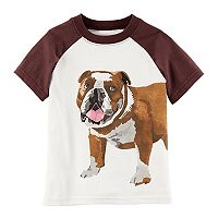 Toddler Boy Carter's Bulldog Graphic Tee