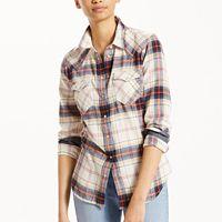 Women's Levi's® Tailored Plaid Shirt