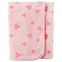 Baby Girl Carter's Hearts Plush Blanket