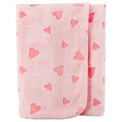 Baby Girl Carter's Hearts Plush Blanket