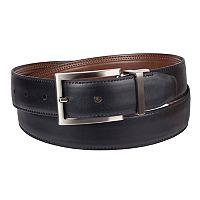 Men's Croft & Barrow® Reversible Double-Stitched Dress Belt