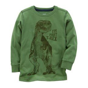 "Toddler Boy Carter's ""I'm Part T-Rex"" Dinosaur Graphic Tee"