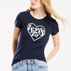 Women's Levi's® Heart Logo Tee