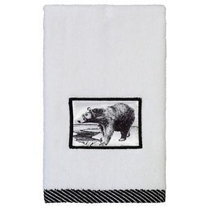 Creative Bath Sketches Fingertip Towel