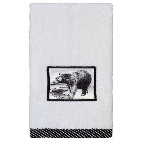 Creative Bath Sketches Fingertip Towel