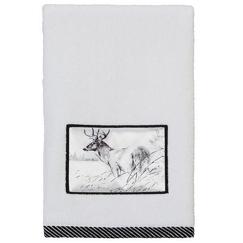 Creative Bath Sketches Hand Towel