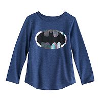 Toddler Girl DC Comic Batman Logo Graphic Tee by Jumping Beans®