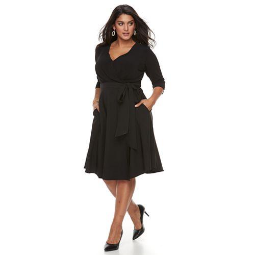 Plus Size Chaya Wrap Dress
