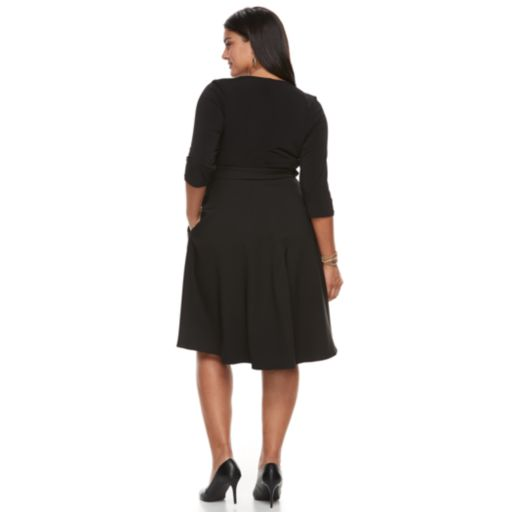 Plus Size Chaya Wrap Dress