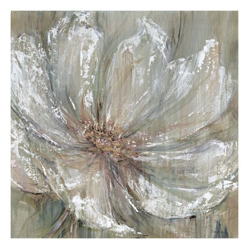 Celadon Splash I Gray Canvas Wall Art