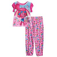 Toddler Girl DreamWorks Trolls Poppy 2 pc Top & Pants Pajama Set