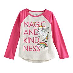 Toddler Girl Jumping Beans® 'Magic And Kindness' Raglan Tee