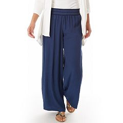 Women's Apt. 9® Wide-Leg Soft Pants
