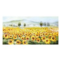 Field Of Gold Canvas Wall Art