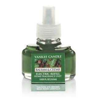Yankee Candle Balsam & Cedar Scent-Plug Electric Home Fragrancer Refill