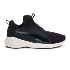 PUMA Rebel Mid Velvet Rope Women's Sneakers