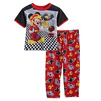 Disney's Mickey Mouse Toddler Boy 2 pc Top & Pants Pajama Set