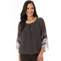 Women's Apt. 9® Chiffon Bell Sleeve Top