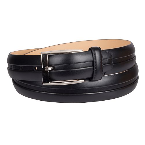 Men's Croft & Barrow® Feather Edge Center Welt Belt