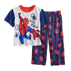 Toddler Boy Marvel Spider-Man 'Web Head' Graphic Top & Pants Pajama Set