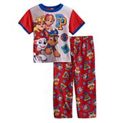 Toddler Boy Paw Patrol 2 pc Sky, Marshall, Chase & Rubble Pajama Set