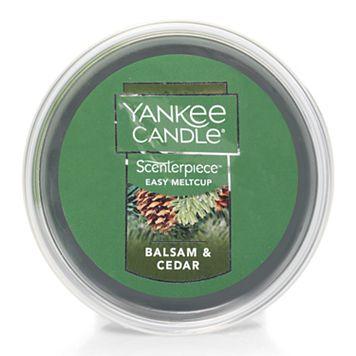 Yankee Candle Balsam & Cedar Scenterpiece Wax Melt Cup