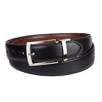 Men's Croft & Barrow® Feather Edge Stretch Reversible Belt