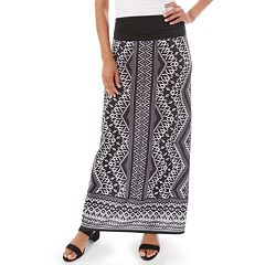 558a5a7da59 Women s Apt. 9® Print Column Maxi Skirt