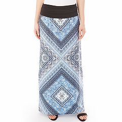 Women's Apt. 9® Print Column Maxi Skirt