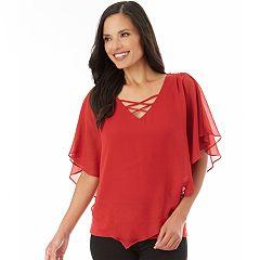 Women's Apt. 9® Crisscross Popover Top