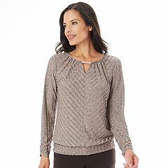 Women's Apt. 9® Textured Embellished Top