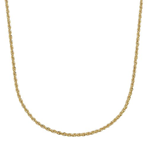 Everlasting Gold 14k Gold Rope Chain - 24 in.