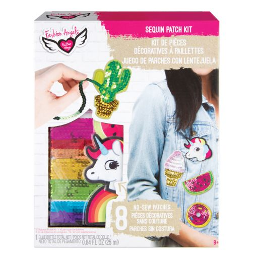 Fashion Angels Sequin Patch Kit
