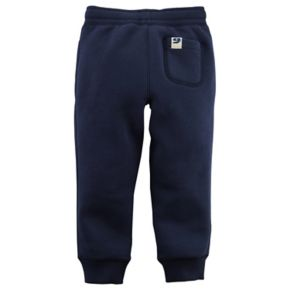 Toddler Boy Carter's Fleece Pull On Navy Jogger Pants