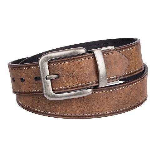 Men's Levi's® Cut-Edge Reversible Leather Belt