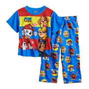 Toddler Boy Paw Patrol Chase, Marshall, Rubble & Skye Top & Pants Pajama Set