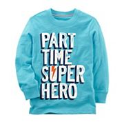 Baby Boy Carter's 'Part Time Super Hero' Graphic Tee
