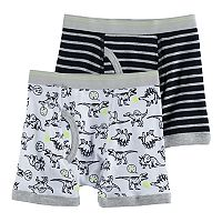 Boys 4-8 Carter's 2-Pack Dinosaur Boxer Briefs