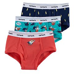 Boys 4-8 Carter's 3-Pack Superhero Monkey Briefs