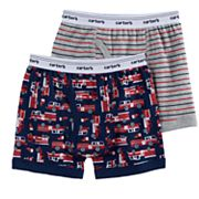 Boys 4-8 Carter's 2-Pack Firetruck Boxer Briefs